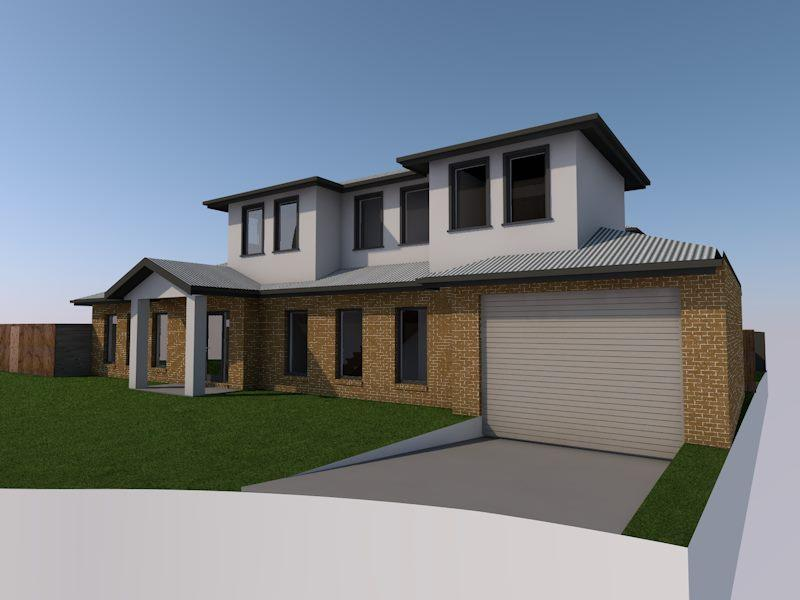 Home renovation design with single parking