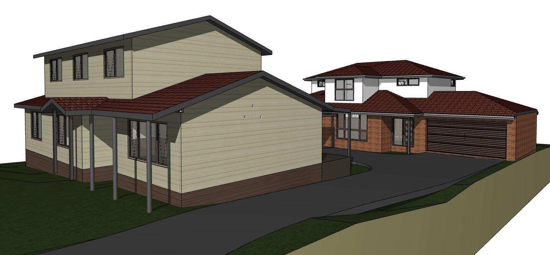 Home renovation sketch