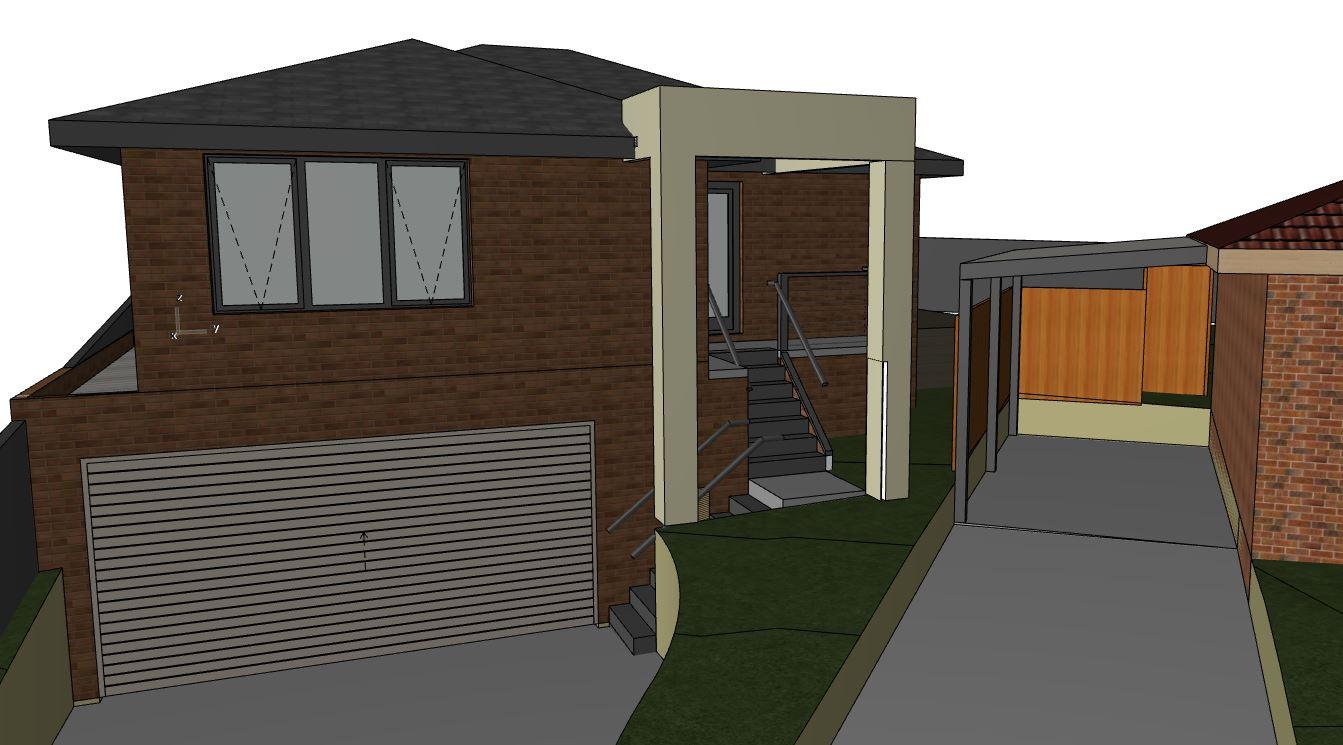 Design of Home renovation sketch