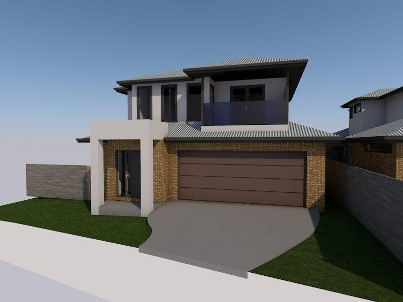 Home renovation design with dual parking