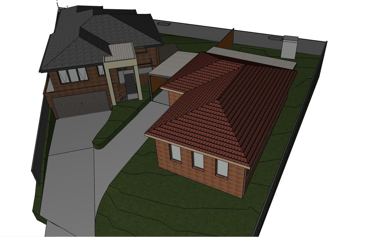 Top view of Home renovation