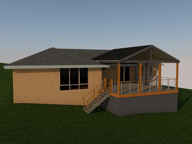 Home renovation side view